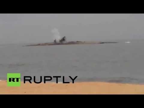 Russia: Offshore mud volcano erupts in Sea of Azov