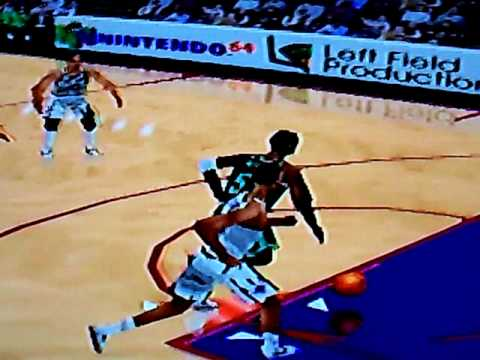 NBA Courtside Ron Mercer Dunk