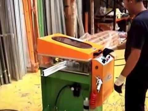 CDR Maquinaria Aluminio, Hierro y PVC - Fresadora de Testas FTN-300/AU