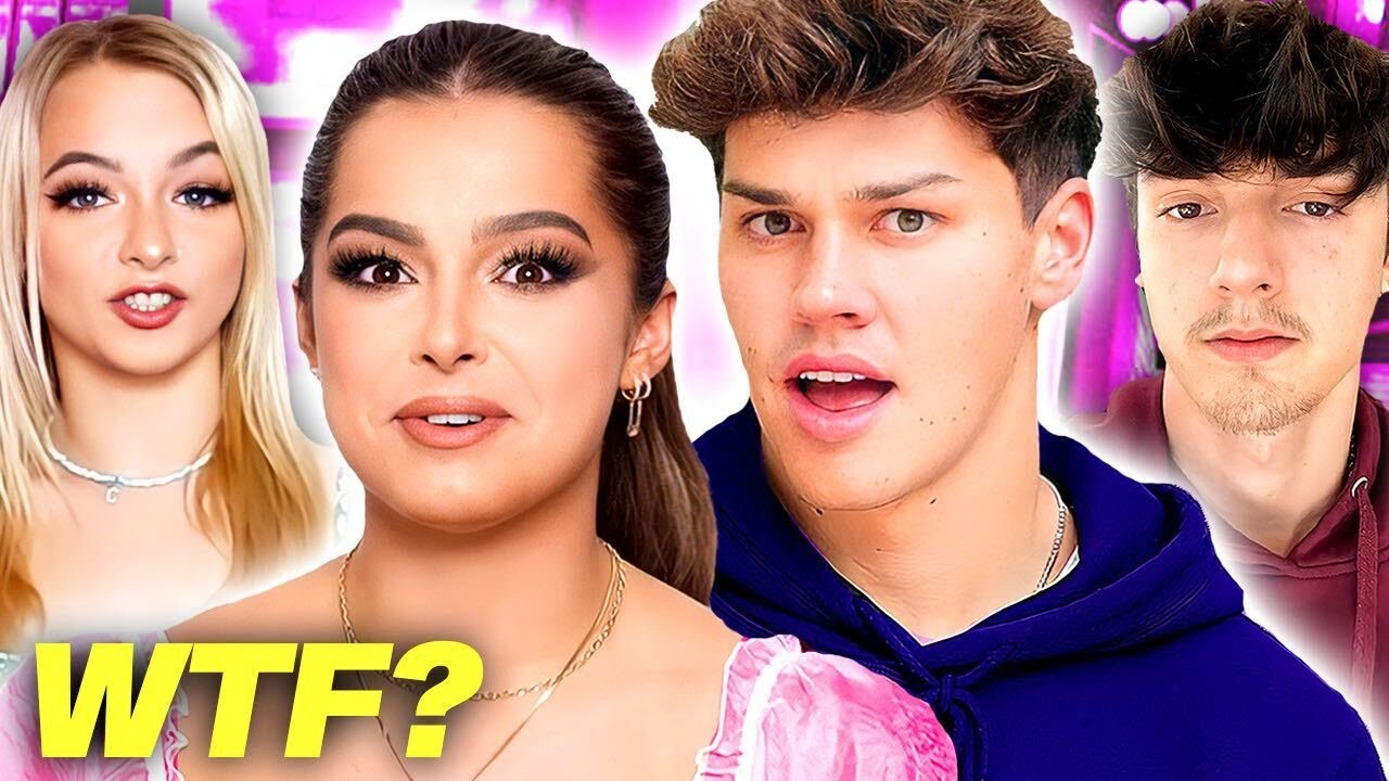 Addison Rae Has FEELINGS For Noah Beck? Bryce Hall DRAGGED By Trisha?Zoe Has Gone INSANE?