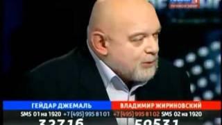 Гейдар Джемаль отказался отвечать на вопрос...!!!.flv