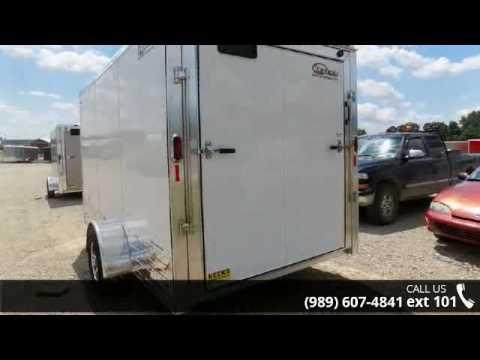 2016 Legend Trailers Deluxe V Nose Cargo 7X15DVNSA  - Bec...
