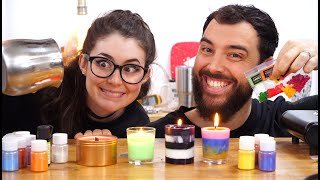 Will $300 in candle supplies make us any good?