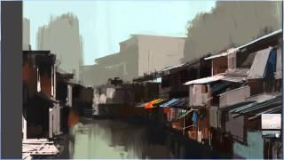 Video Speed painting:Thai slum download MP3, 3GP, MP4, WEBM, AVI, FLV Desember 2017