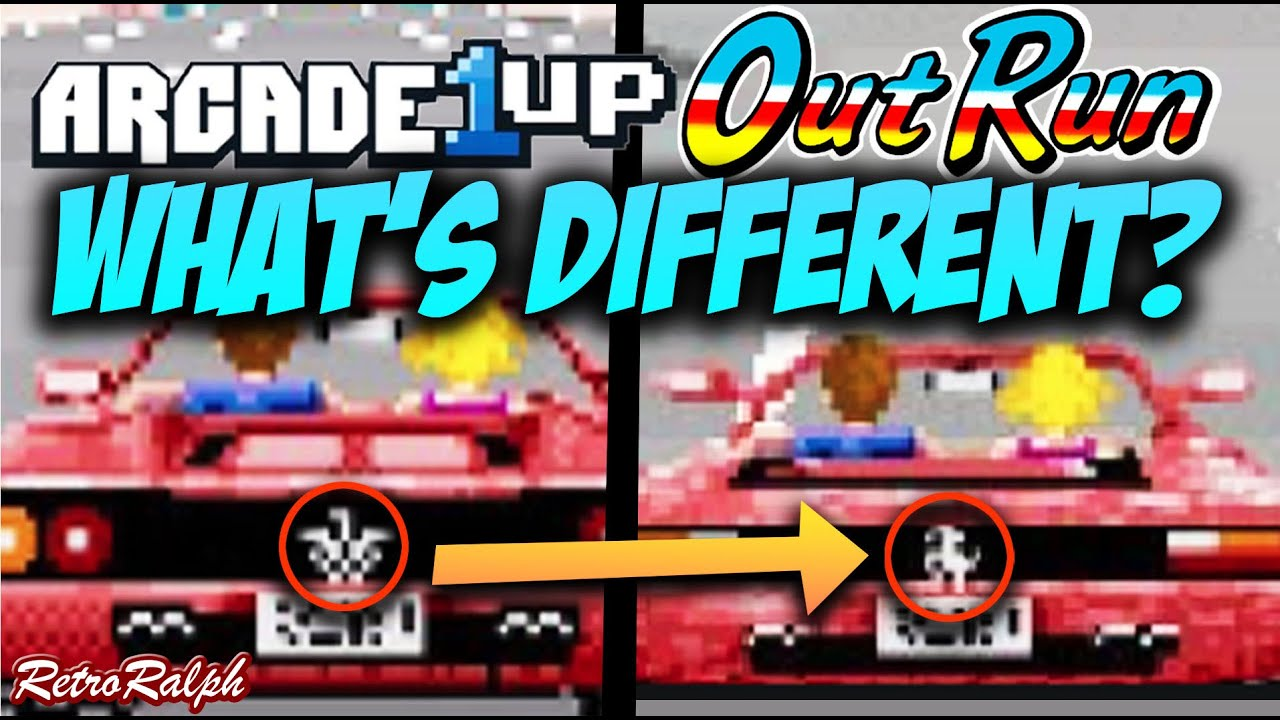 Arcade1up Outrun - Something is different but why?!?