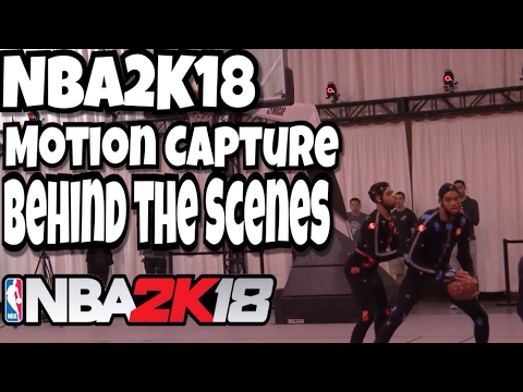 NBA2K18 - Motion Capture - Behind the Scenes Of 2K18