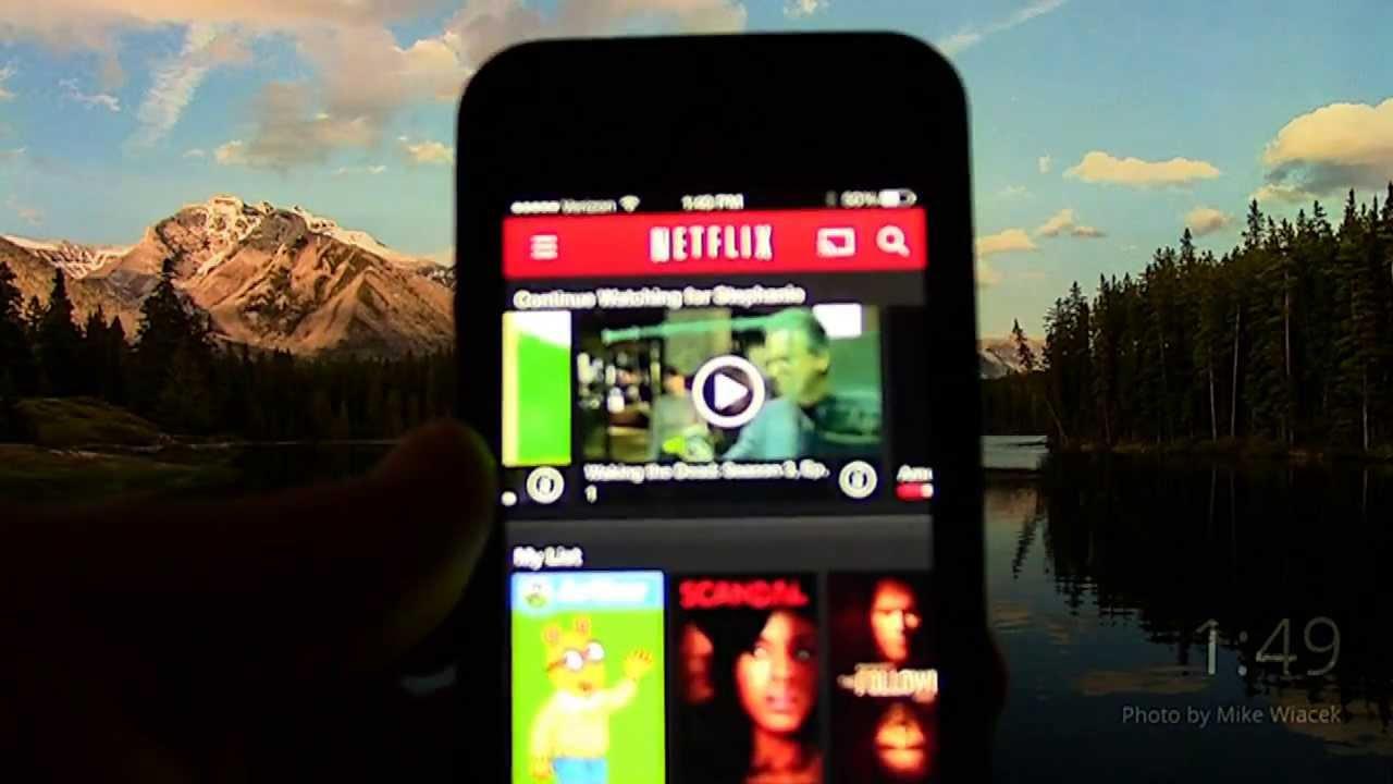 Netflix App Chromecast