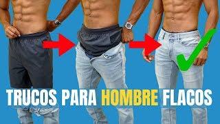 8 Trucos Para Que Hombres Delgados Se Vean Bien (Cómo Vestirse Si Eres Flaco) thumbnail