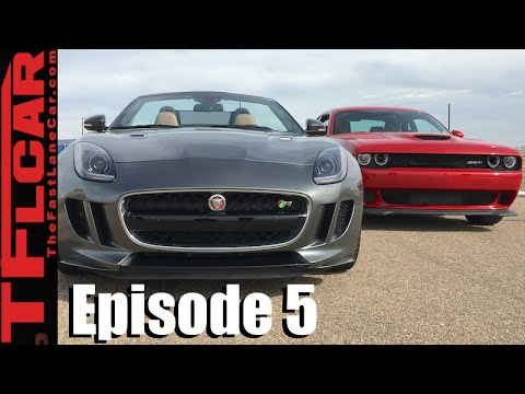 Jaguar F Type R: Cat Vs Cat Drag Race   Ep. 5
