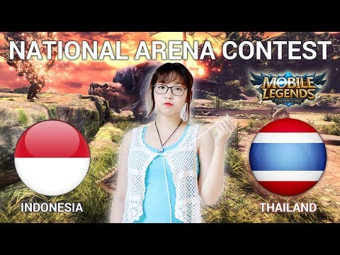 INDO VS THAILAND - GIVE AWAY TINGGAL LI KE & SUBS - National Arena Contest Cast by Kimi Hime