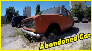 Old Abandoned Russian Car - VAZ Lada 2101. Finding Forgotten Vehicle 2018. Lost Cars