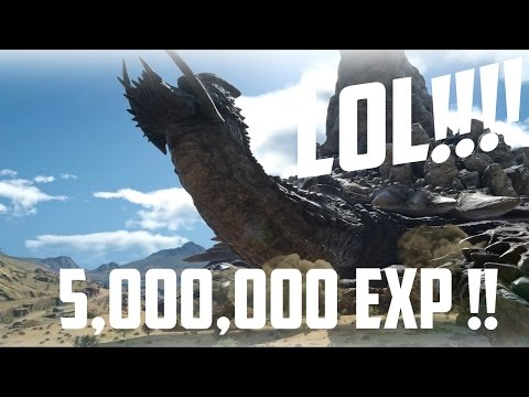 How To Make A Lot Of Gil And EXP Fast In Final Fantasy XV!!