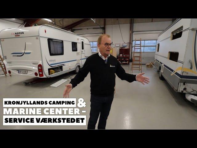 Kronjyllands Camping og Marine Center - Service værkstedet