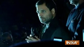 JNU: Youngster expressed himself & government says he is an anti-national says Rahul Gandhi
