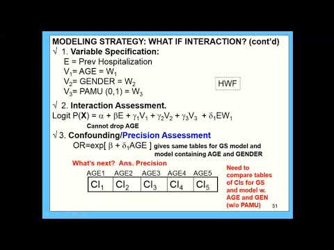 Class 7: Strategy single E interaction, confounding; Strategy 2+ E's.