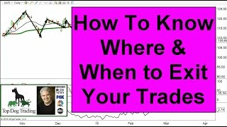 Stock Market Trading: When To Exit A Trade
