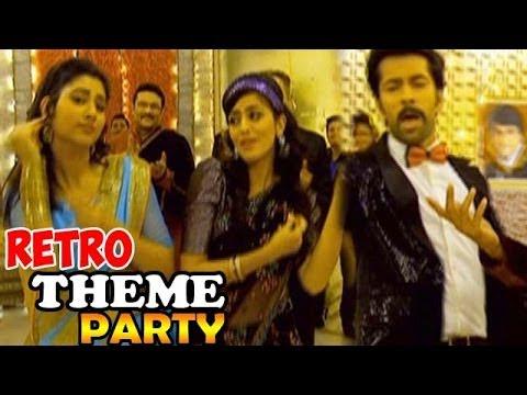 Pyar ka dard hai retro theme party on the sets youtube for Ka che vintage look