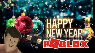 Frohe Neujahre Roblox! Auf Wiedersehen 2017! Hallo 2018!