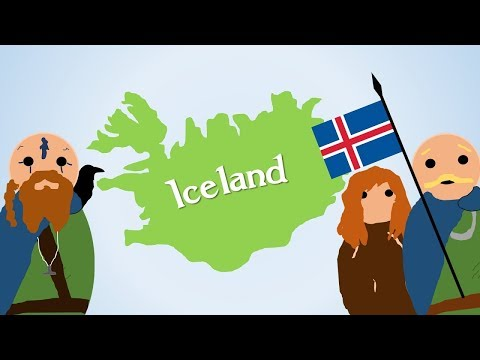 How did the Vikings Discover Iceland?