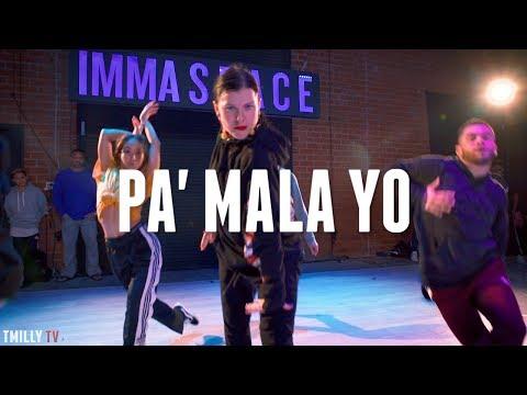 Natti Natasha - Pa' Mala YO | Choreography by Janelle Ginestra #TMillyTV Mp3