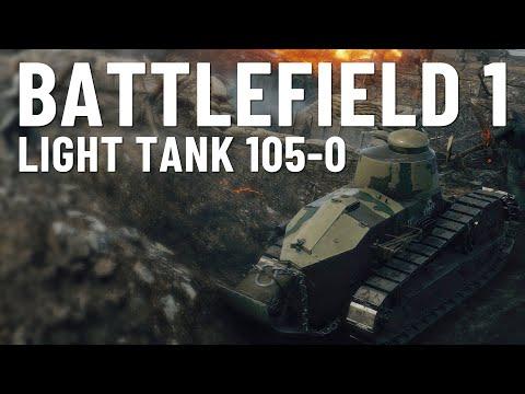 105-0 LIGHT TANK! - BF1