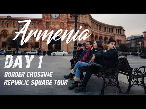 BORDER CROSSING | Georgia To Armenia, Republic Square Tour