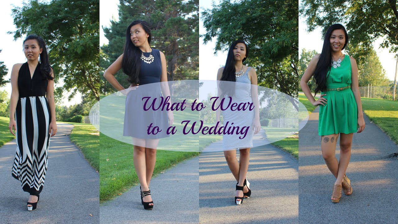 What to Wear to a Wedding | Wedding Guest Lookbook | Hai Melissa ...