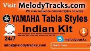 Download Hindi Video Songs - Jaane Kaise Kab Kahan   Yamaha Tabla Styles   Indian Kit    PSR S550, S650, S750, S950, A2000, S710,