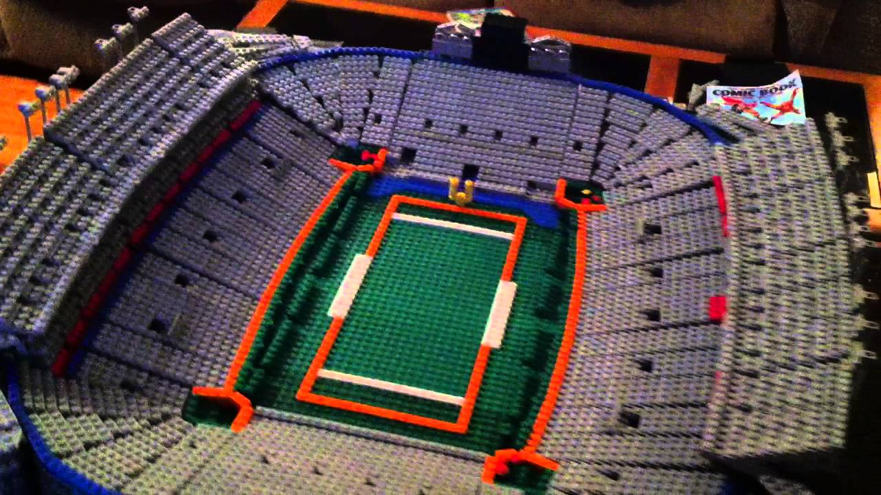 a8b52e38da12ea LEGO Jordan-Hare Stadium Auburn Tigers Football custom designed ...