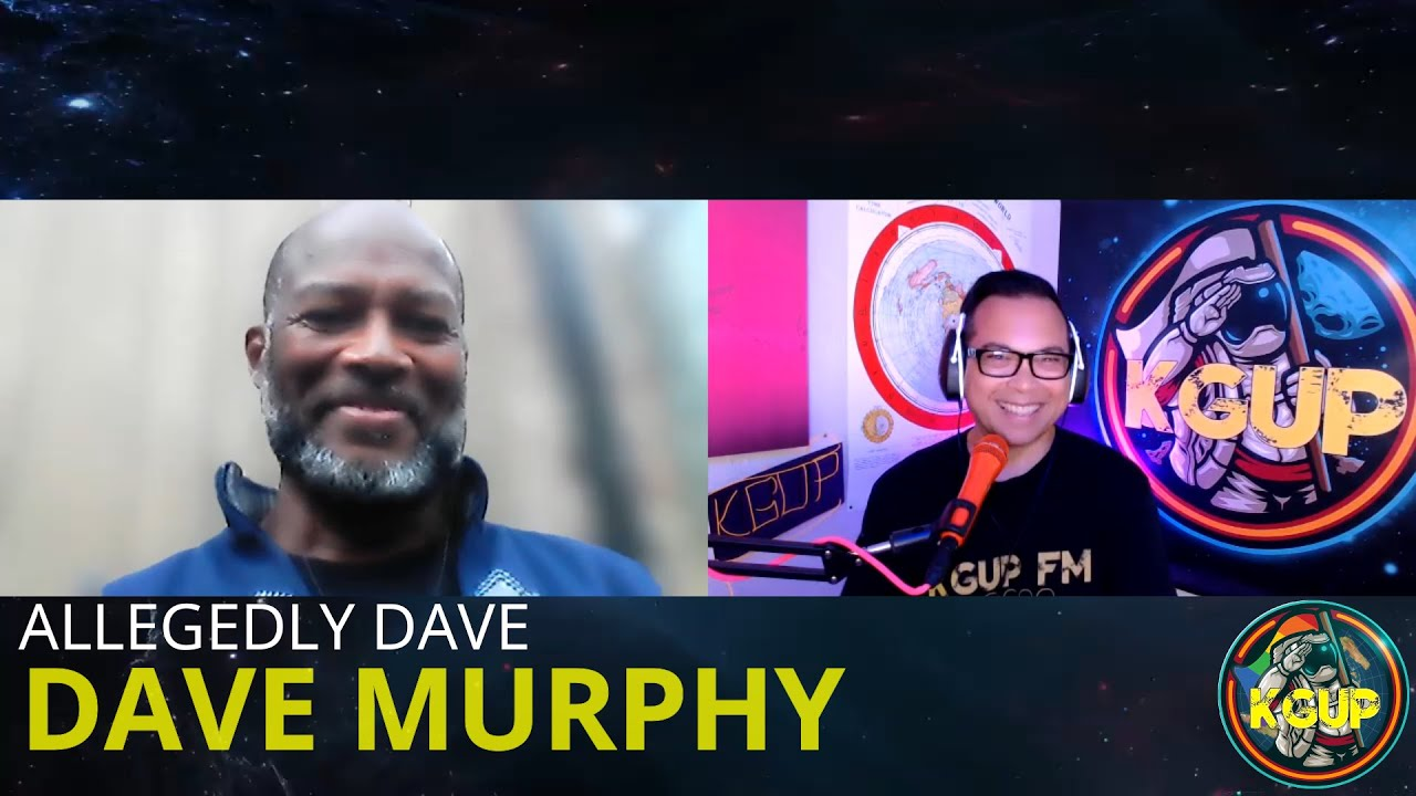 Dave Murphy aka Allegedly Dave talks about the creator, flat earth, and hidden history