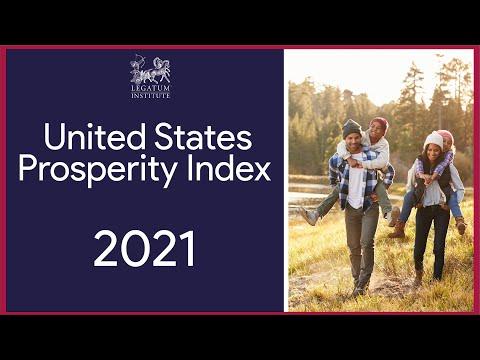 The Legatum Institute 2021 United States Prosperity Index Launch