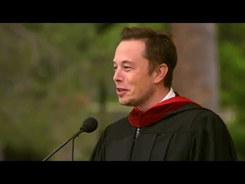 Elon Musk's Legendary Commencement Speech