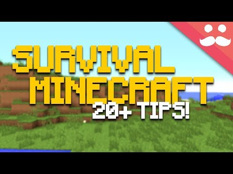 25 Tips For Your Survival Minecraft Worlds!