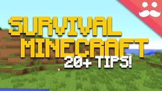 25 Tips for y๐ur Survival Minecraft Worlds!