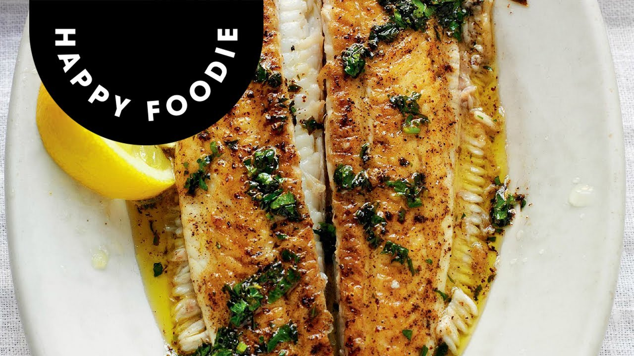 Rick stein shows how to cook and prepare dover sole youtube for How to cook sole fish