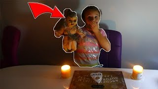 Creepy Doll Mailed Herself To Me! Did The Doll Master Send it? 3 AM Ouija Board