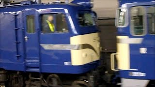 ef65 1 ef58 150 オロネ24 4 網干総合車両所宮原支所から京都鉄道博物館への保存車両輸送