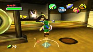 Let's Play Legend of Zelda Majora's Mask Episode 5: Failure with heart