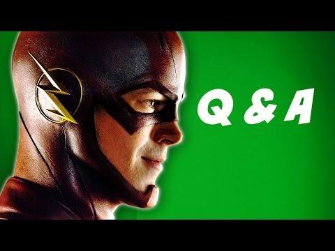 The Flash TV Series 2014 Grant Gustin Costume Q&A