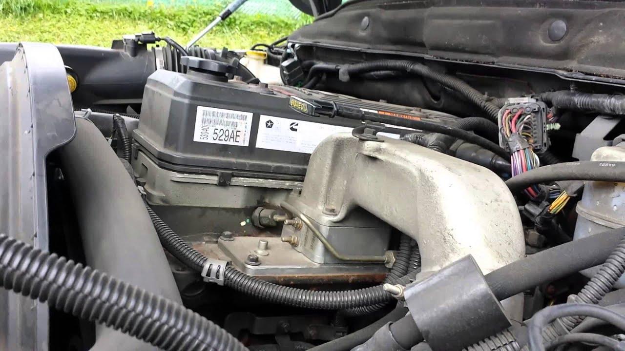 5 9 cummins due to exhaust brake