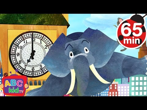 Hickory Dickory Dock (2D) | +More Nursery Rhymes & Kids Songs - Cocomelon (ABCkidTV)