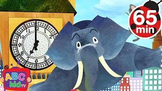 Repeat youtube video Hickory Dickory Dock and More Nursery Rhymes & Kids Songs - ABCkidTV