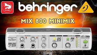 BEHRINGER MIX 800 MINIMIX - караоке-процессор (удаление вокала, реверберация)