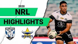 Bulldogs v Cowboys Match Highlights | Round 2 NRL 2020
