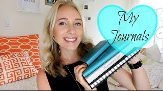 MY JOURNALS & HOW I USE THEM FOR OPTIMAL HAPPINESS