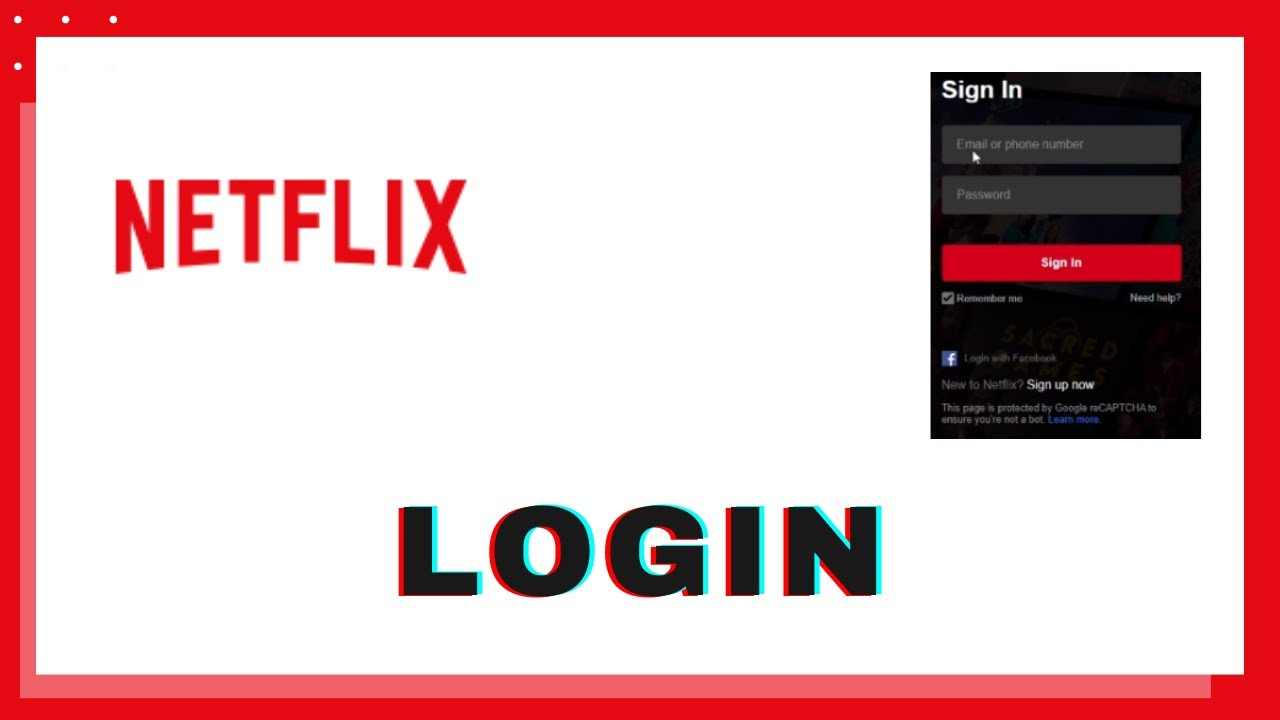 How to Login Netflix Account Sign In to Netflix   Netflix Sign In    Netflix Login