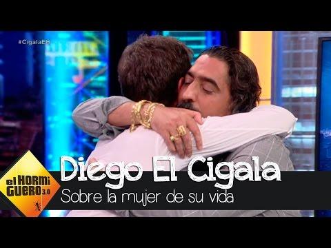 """Diego El Cigala: """"Mi nuevo trabajo es un homenaje a ella, la mujer de mi vida"""" - El Hormiguero 3.0"""
