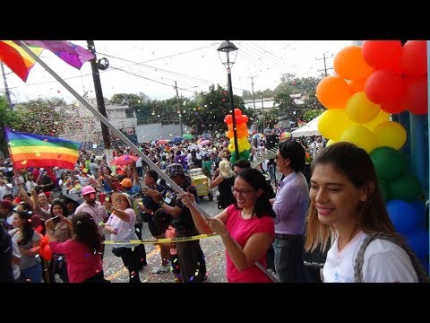 LGBT ORGULLO GAY EL SALVADOR 2017 PRIDE SV