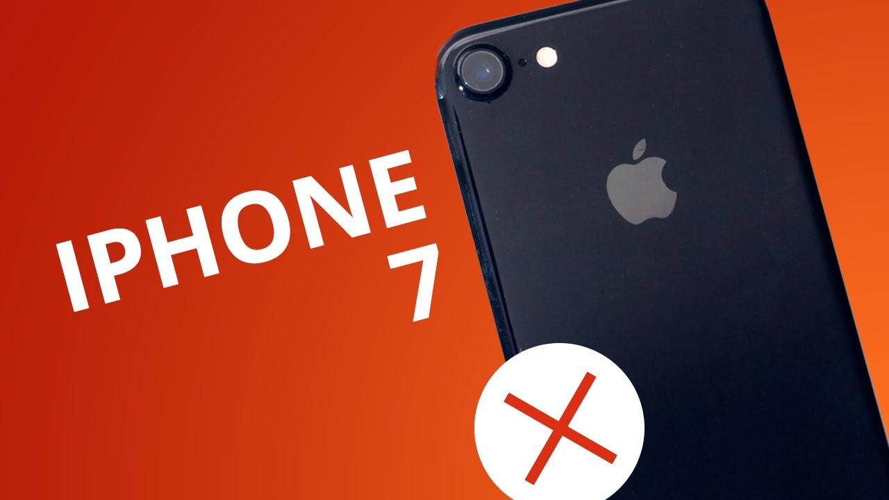 5 motivos para no comprar o iphone 7 youtube 5 motivos para no comprar o iphone 7 stopboris Images