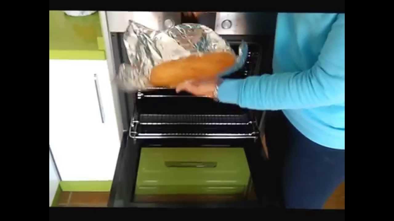 como cocinar con papel aluminio en el horno